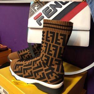Fendi shoes and purse